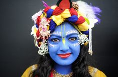 What a fantastic shot - Krishna Janmashtami celebrated by Hindu devotees all over the world!