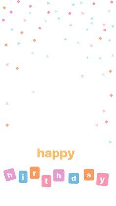 Happy Birthday Template, Happy Birthday Frame, Happy Birthday Posters, Birthday Posts, Creative Instagram Stories, Instagram Story Ideas, Instagram Quotes, Birthday Captions Instagram, Birthday Post Instagram