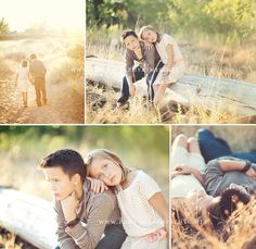 i really like the bottom row first shot of her at cam and him fist under chin staring off...