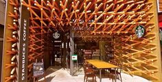 http://idesignme.eu/2012/03/starbucks-by-kengo-kuma #design #starbucks #interior #architecture #architect #wood