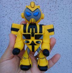Transformers Bumblebe p/ Topo de Bolo