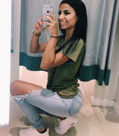 Selfies que tienes que tomarte con tus jeans más ajustados