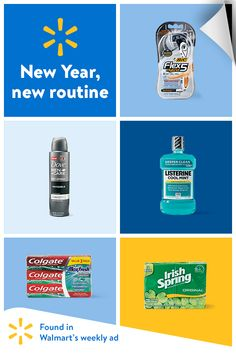 Reinvent your routine for 2018. Face the New Year feeling great with Walmart's weekly ad.