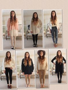Some outfits by Marzia
