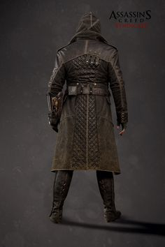 Outfit I did on Assassin's Creed Syndicate. The High res Model was later re-used and adapted for promotional artwork.  Face and Bracer done by other teamates.