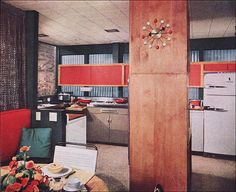 #1955 Atomic-Style #Kitchen