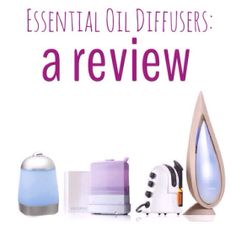 review of several different diffusers with price points starting at $25