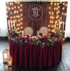 burgundy wedding Trendy Wedding Rustic Theme B - Rustic Wedding Colors, Rustic Theme, Rustic Weddings, Wedding Table Themes, Wedding Ideas, Diy Rustic Decor, Rustic Design, Burgundy Wedding, Trendy Wedding