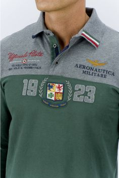 AERONAUTICA MILITARE POLO M.L. - MEN Polo Tees, Polo Shirt, T Shirt, Blazers, Fashion Prints, Preppy Ideas, Printed Shirts, Menswear, Red Tree