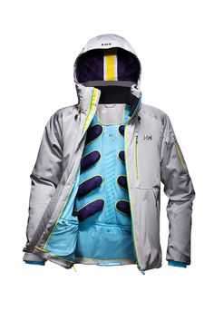I am always looking for better jackets, that keep me warm. Because I HATE being cold when I am outdoors. This cool jacket has a mechanical venting system that is anatomically body mapped not only for warming but also for cooling. Trend Forecasting, Cool Jackets, Winter Jackets, Sport Fashion, Mens Fashion, Winter Outfits, Casual Outfits, Sailing Gear, Winter Hiking
