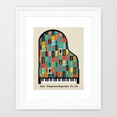 Buy Liszt - Hungarian Rhapsodies Framed Art Print by Prelude Posters. Worldwide shipping available at Society6.com. Just one of millions of high quality products available.