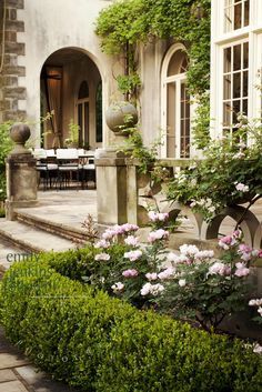 Gorgeous English Manor and Garden ~ Emily Jenkins Followill Photography