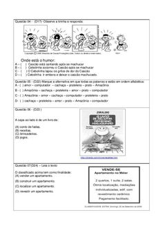 SIMULADO 4º ANO FUNDAMENTAL Humor, Education, Lp, Reading Activities, Literacy Activities, Index Cards, Flowers, Humour, Moon Moon