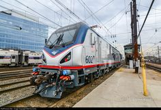 RailPictures.Net Photo: AMTK 602 Amtrak Siemens ACS-64 at Washington, District of Columbia by Matt Donnelly