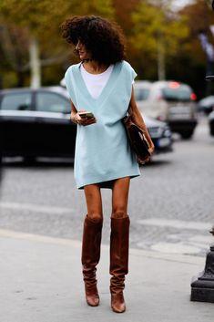 The Best Street Style From Paris Fashion Week - HarpersBAZAAR.com