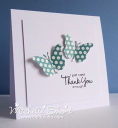 The Card Grotto: Thank You Enough - DTDF