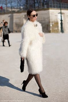 Love her Tres Chic Brooch Pinned On Dead Center of her Fluff!