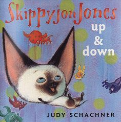 Skippyjon Jones: Up and Down book cover.....books you can put up on the smart board for free