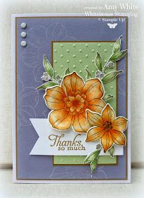 White House Stamping: Pumpkin Wisteria Case Secret Garden Simply Sketched
