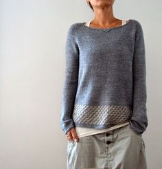 a cozy striped jumper to live