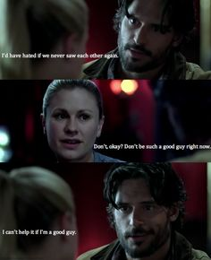 Alcide is a good guy, a sexy, sexy good guy