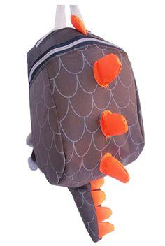 0ff9d07b653 Fashion Infant Knapsack Toddle Backpack Kindergarten School Bag Brown  Dinosaur School Bags