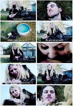 """Killian come back to me!"" GAHHHH Emma sacrificing her magic for Hook! OUAT"