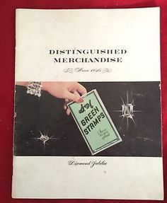 Vtg 1956 Advertising Redemption Catalog s H Green Stamps Wish Book | eBay