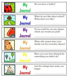 Kids Journal Jar Prompts- definitely going to work on writing Daily journal topics Journal Jar, Journal Prompts For Kids, Journal Topics, Writing Prompts For Kids, Kids Writing, Teaching Writing, Writing Activities, Creative Writing, Writing Ideas
