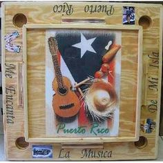 "Image detail for -Amazon.com: PUERTO RICO HANDMADE DOMINO TABLE ""INSTRUMENTOS MUSICALES ..."