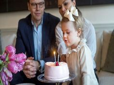 Princess Estelle, the adorable baby daughter of Sweden's Crown Princess Victoria and Prince Daniel, turned two years old, 23.02.14