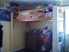 loft stilts. DIY Bunk Bed Plans | Plans: Way More Than A On Stilts: Build This 21st Century Loft Storage Pinterest Plans, And Plan Stilts F