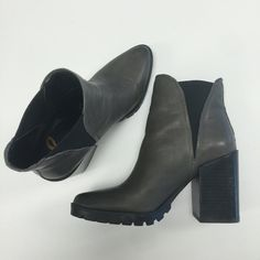"""Sam Edelman """"Kammie"""" Bootie Gorgeous gray Chelsea booties by Sam Edelman.  Really good condition, worn a couple times.  A couple light surface scratches but not really noticeable.  Still for sale at Nordstroms for full price Sam Edelman Shoes Ankle Boots & Booties"""