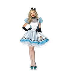 Leg Avenue 83802 - Tea Time Alice Kostüm Alice im Wunderland Größe 34-44 *NEU* | eBay