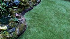 Artificial turf grass installation