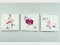 Tableaux d coration on pinterest porte bijoux islamic art and atelier - Tableau triptyque orchidee ...