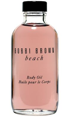 Bobbi Brown Beach Oil - smells like grown up Coppertone, great for summer legs and arms.