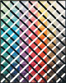 Quilt Inspiration: Free pattern day: Lattice and Woven quilts Easy Quilt Patterns Free, Bed Quilt Patterns, Jelly Roll Quilt Patterns, Free Pattern, Skirt Patterns, Blouse Patterns, Sewing Patterns, Scrap Fabric Projects, Sewing Projects