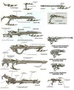DE weapons