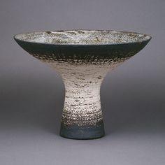Waistel Cooper; Glazed Stoneware Vase, c1990.