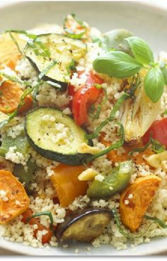 Low FODMAP and Gluten Free Recipe - Roasted Vegetable Quinoa - (Update) - http://www.ibssano.com/low_fodmap_recipe_roasted_vegetable_quinoa.html