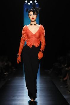 "Jean Paul Gaultier Spring 2014 Haute Couture: ""Life is a Butterfly"" 