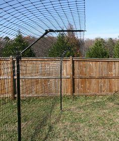 Outdoor Cat Fencing - PurrfectFence.com