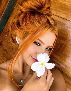Married to a Redhead: Photo Beautiful Red Hair, Gorgeous Redhead, Ginger Hair Color, Vivid Hair Color, Red Hair Woman, Copper Hair, Foto Pose, Tumblr Girls, New Hair