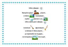 dreamskindergarten Το νηπιαγωγείο που ονειρεύομαι !: Παιδικό ποίημα για τη βροχή και το έθιμο της περπερούνας Projects To Try, Personal Care, Blog, Self Care, Personal Hygiene, Blogging