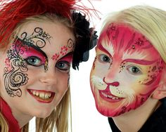 Facepainting from www.doodleartstudio.com