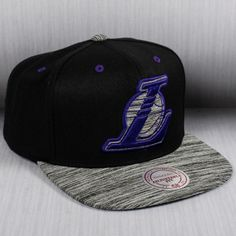 Mitchell   Ness NBA Los Angeles Lakers Motion Snapback Cap ab72a37455a