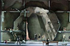 La Forza del Destino - Munchen Bühne / Set Martin Zehetgruber 2013