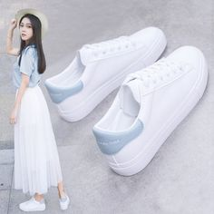 Womens Fashion Sneakers, Fashion Heels, Trendy Shoes, Casual Shoes, Best White Sneakers, Kawaii Shoes, Girls Shoes, Girls Sneakers, Shoes Women