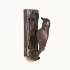 Got this for my daughter's room just because it's fun.  WorldMarket.com: Antique Bronze Bird Door Knocker
